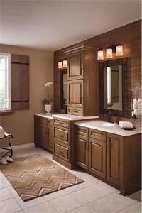 25 amazing double bathroom vanities you need to try for Kitchen craft bathroom vanities