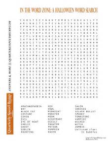 printable halloween word search puzzles halloween