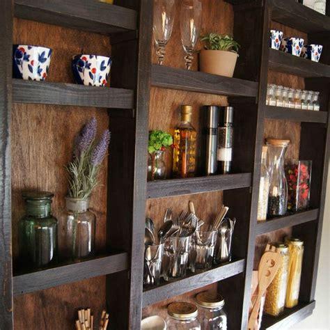 built  kitchen wall shelves hometalk