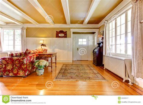living room golden white  entrance door royalty