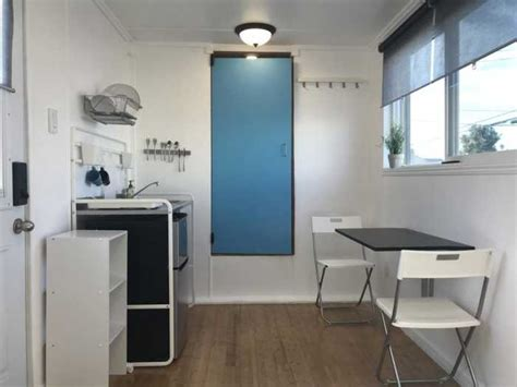 foot shipping container home tinyhouse  sale