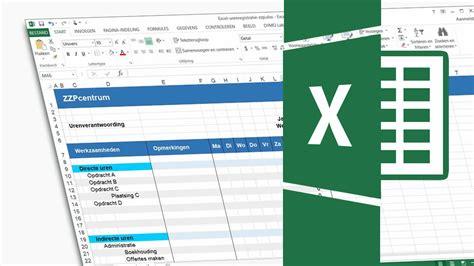 foto de Urenregistratie Excel voor zzp: Download gratis urenformulier