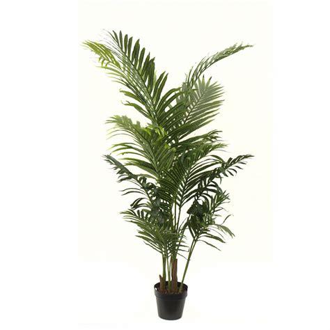 areca palm artificial areca palm 1 4m with 16 stems and basic black pot