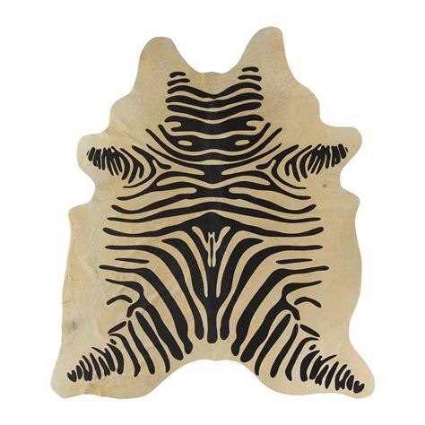 cowhide zebra print rug buy a by amara zebra print cowhide rug light amara