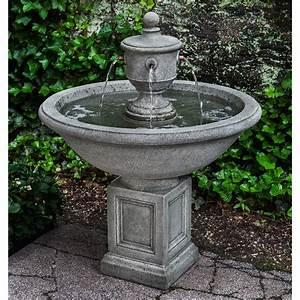 Campania, International, Rochefort, Outdoor, Fountain