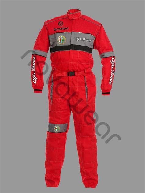 Alfa Romeo Clothing by Alfa Romeo Workwear Overall Alfa Romeo Apparel Alfa Romeo