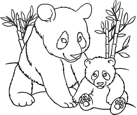 panda coloring pages panda coloring pages free printable enjoy coloring