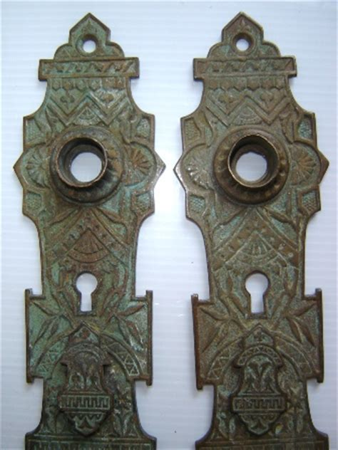 Victorian Door Knob Plates   Recycling the Past