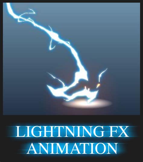 lightning fx animation  alexredfish  deviantart