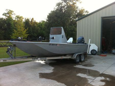 Custom Built Bay Boats by 21 Ft Custom Aluminum Bay Boat Louisiana Sportsman