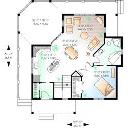narrow lot house plans with basement style house plans 840 square foot home 1 story
