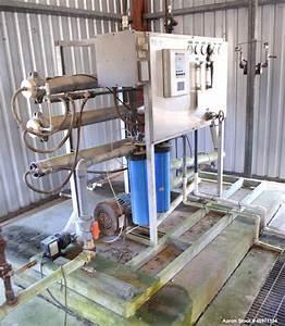 Used- Alamo Brand Reverse Osmosis System, Consist