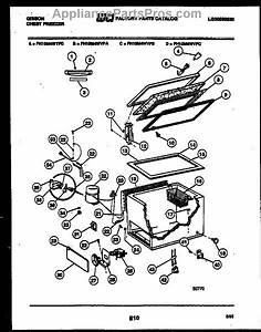 Parts For Frigidaire Fh10m4wvfc  Chest Freezer Parts
