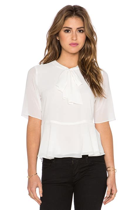 ruffled blouses ruffle tie neck blouse 39 s lace blouses
