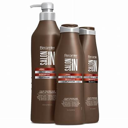 Shampoo Recamier Intensifier Platinum Salon Suave Agrandar
