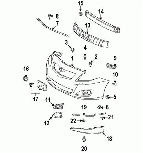 Toyota Parts Diagram by 2010 Toyota Corolla Parts Diagram Automotive Parts