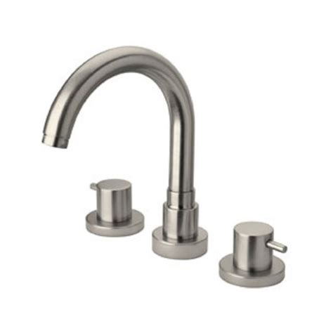 Brushed Nickel Tub Faucet by Latoscana Elba Lever 2 Handle Free Standing Tub