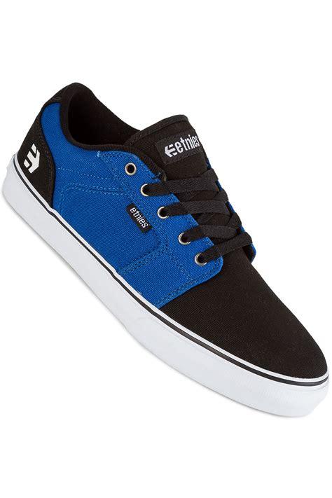 blue and white ls etnies barge ls schoen black blue white koop bij skatedeluxe