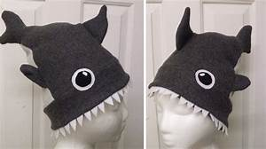 How To Make Shark Attack Hat Sew Uncategorized Handimania