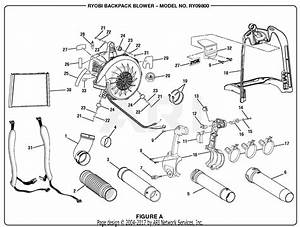 Homelite Ry09800 Backpack Blower Parts Diagram For Figure A