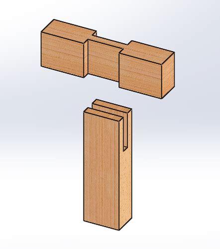 tee bridle joint bealalt  mtw design craft