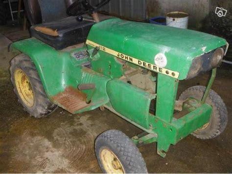 siege de tracteur ancien restauration deere 112