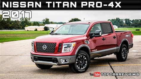 2017 Nissan Titan Pro-4x Review Rendered Price Specs