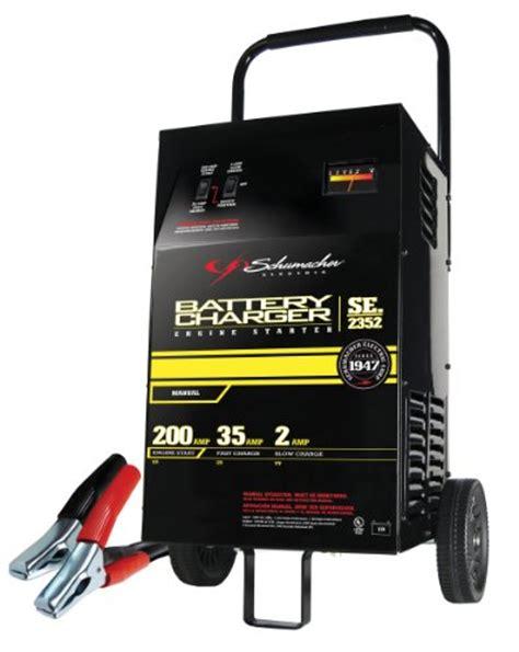 schumacher se   amp manual battery charger