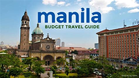 manila   budget travel guide itinerary  poor