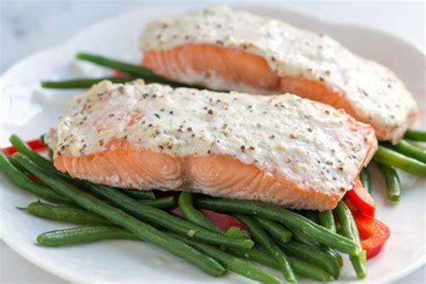 salmon recipes baked sour cream baked salmon recipe