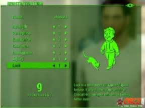 fallout  luck orczcom  video games wiki