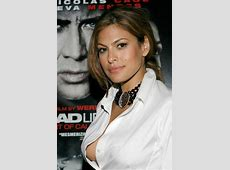 Eva Mendes Almost Suffers Wardrobe Malfunction « Media Outrage