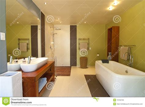 Modernes Badezimmer Stockbild Bild Von Fliesen, Hotel