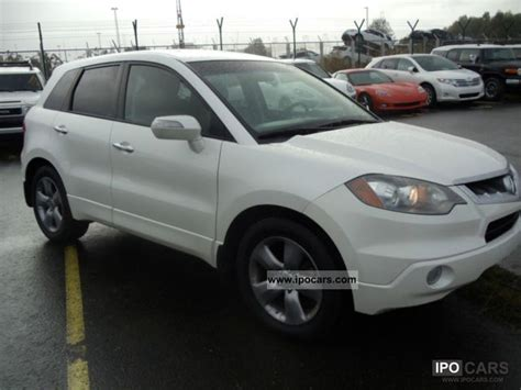 2007 acura other rdx car photo and specs