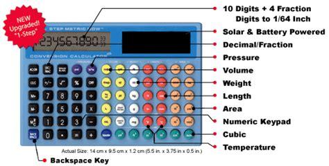 metric conversions   hand pocket metric