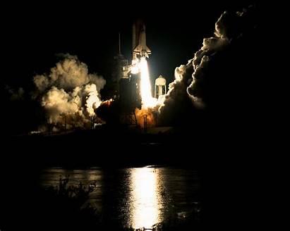 Shuttle Launch Night Sts Space Nasa Atlantis