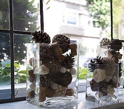 Winterdeko Fensterbank by Fensterbank Dekorieren Mit Zapfen Kreativ