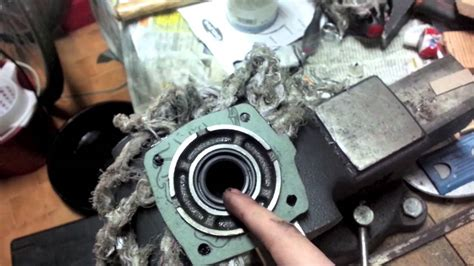 fixing  oil leak   toyota ae transmission