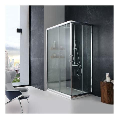 cabine de 70 x 100 cm en verre transparent giada 02030110400486