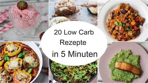 20 low carb rezepte in 5 minuten sandras kochblog