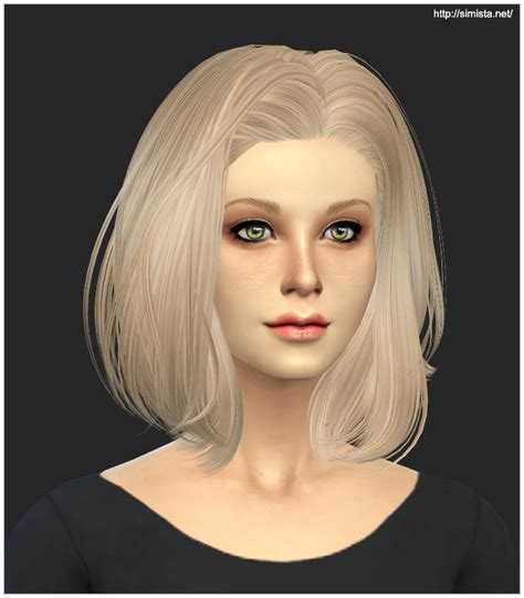 sims  hairs simista skysims hairstyle  retexture