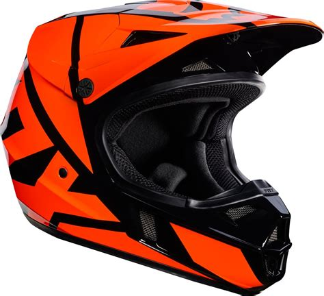 Fox Racing Youth V1 Race Mx Motocross Helmet Ebay