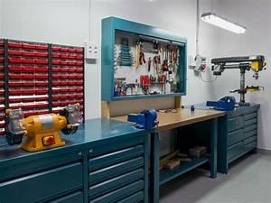 Atelier De Bricolage : werkstatt einrichten jedes werkzeug am rechten fleck ~ Melissatoandfro.com Idées de Décoration