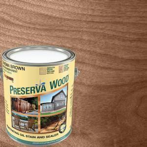 preserva wood  gal  voc semi transparent oil based