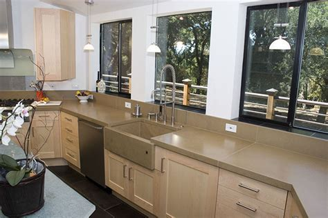 Concrete Countertops for The Kitchen and Bath from Sonoma