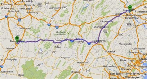 Sunnyvale to Baddeck: Day 55: Harrisburg to Morgantown ...