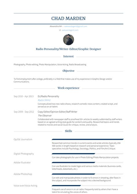 Resume Writer In India by Staff Writer Resume Sles Templates Visualcv