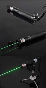 10000mw Green Laser Pointer 532nw Adjustable Beam High
