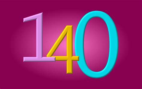numbers number 140