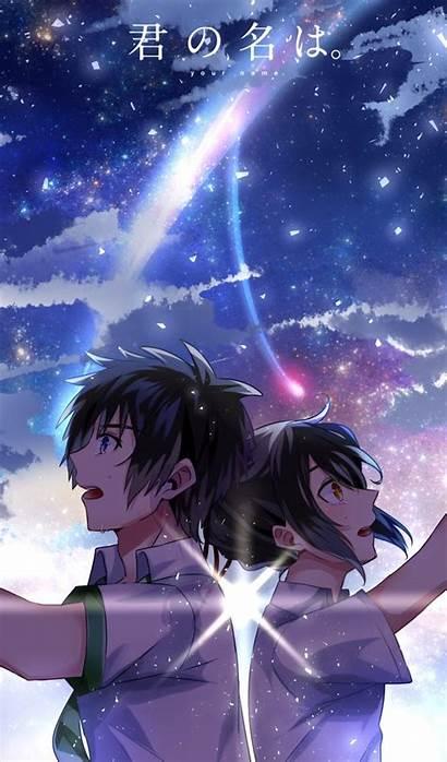 Anime Kimi Wa Na Mitsuha Taki Miyamizu